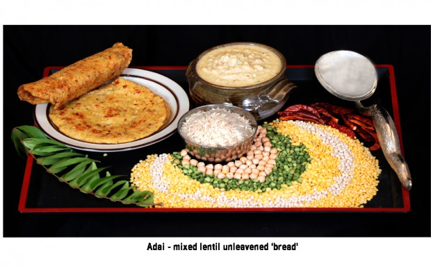 620 pix wide pic 2 (Adai- mixed lentil bread)