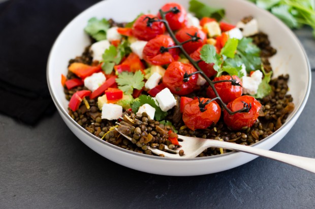 Green Lentil Salad_AFreshLegacy