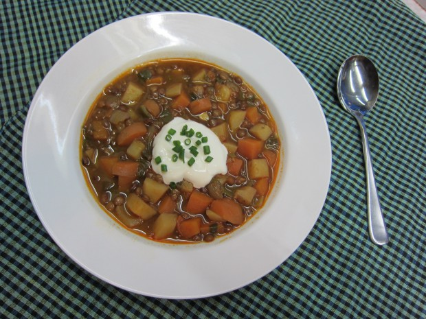 Lentil Goulash Soup