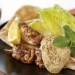 13 Middle Eastern Chicken Skewers with Bean Puree
