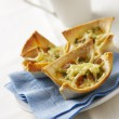 20 Bean and Egg Toastie Pies
