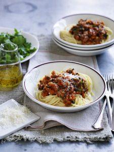 lentil bolognaise recipe