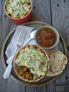 indian style cottage pie