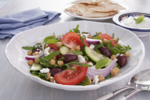 quick and easy greek salad recipe from Edgell