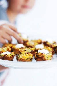 Sanitarium So Good corn, carrot and zucchini fritters recipe