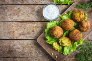 quick and easy faba bean falafell