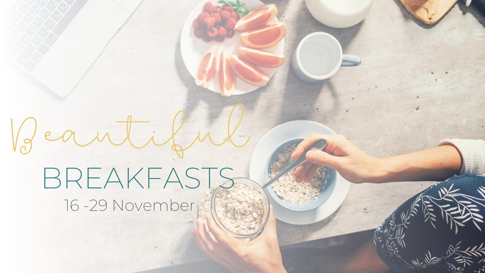 Beautiful Breakfasts – Website 1