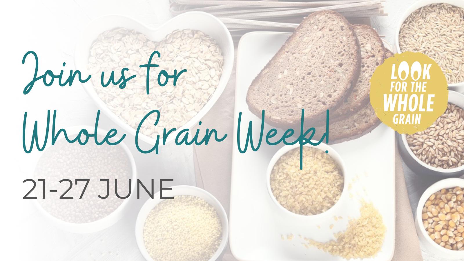 Whole Grain Week – Website Banner