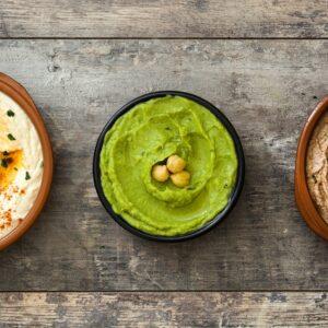 Chickpea Hummus & Flatbread