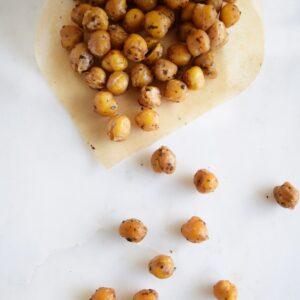 Spiced Crispy Chickpeas