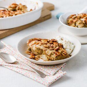 Pear & Almond Breakfast Bake
