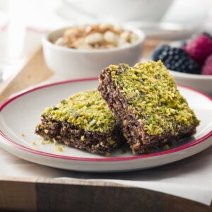 Crunchy Nut and Berry Iron Bars