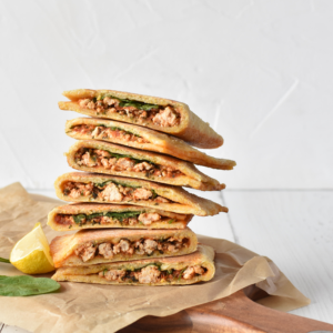 Chicken and Spinach Gozlemes