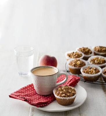 Uncle Tobys Plus Chia & Walnut Protein Muffins
